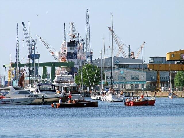 Hafenradar Bremerhaven
