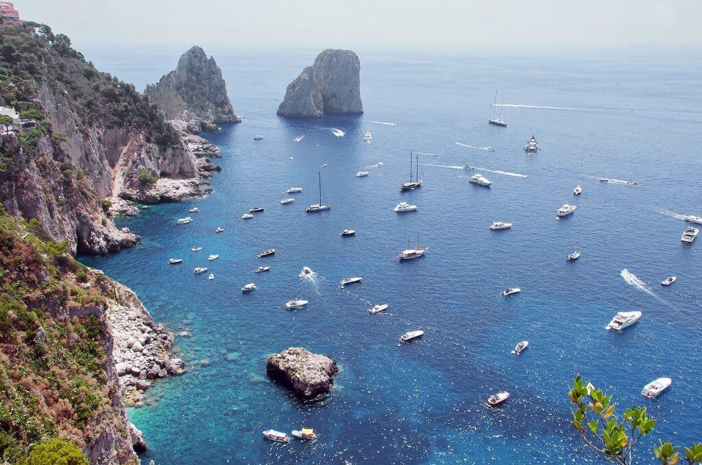Schiffsradar Mittelmeer