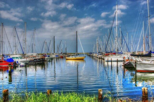 Schiffsradar Nordsee