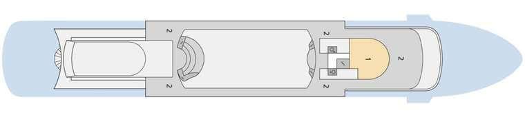 AIDAcara - Deck 11