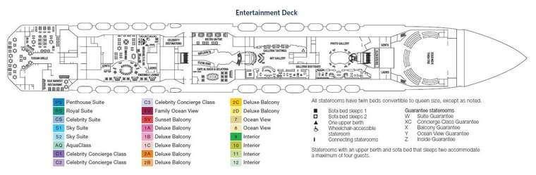 Celebrity Equinox - Deck 5