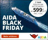 AIDA Black Friday Angebote