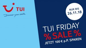 TUI Black Friday Angebote