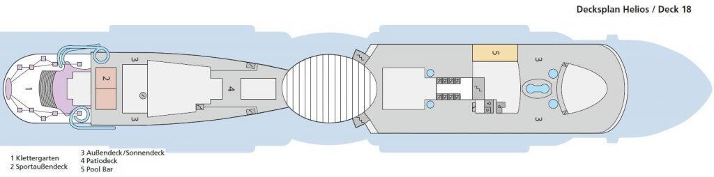 AIDAnova Deck 18